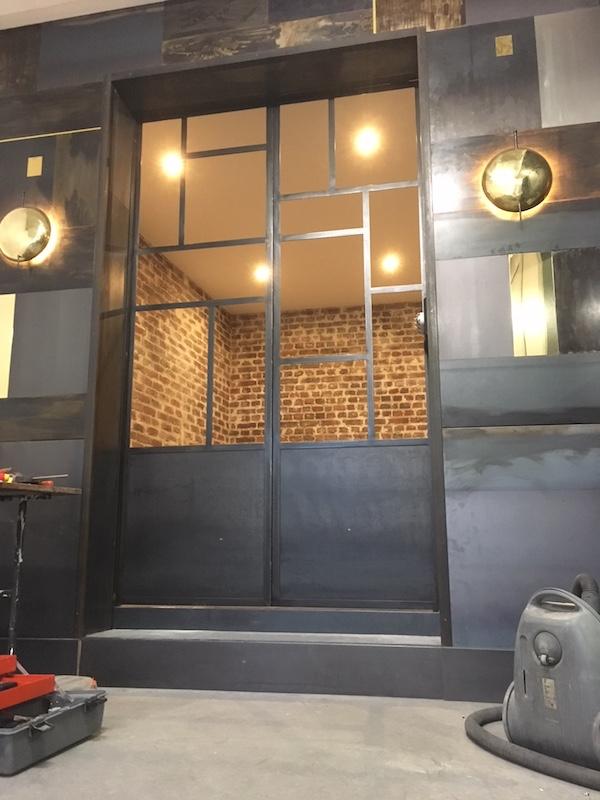 portes paris cuivre brut