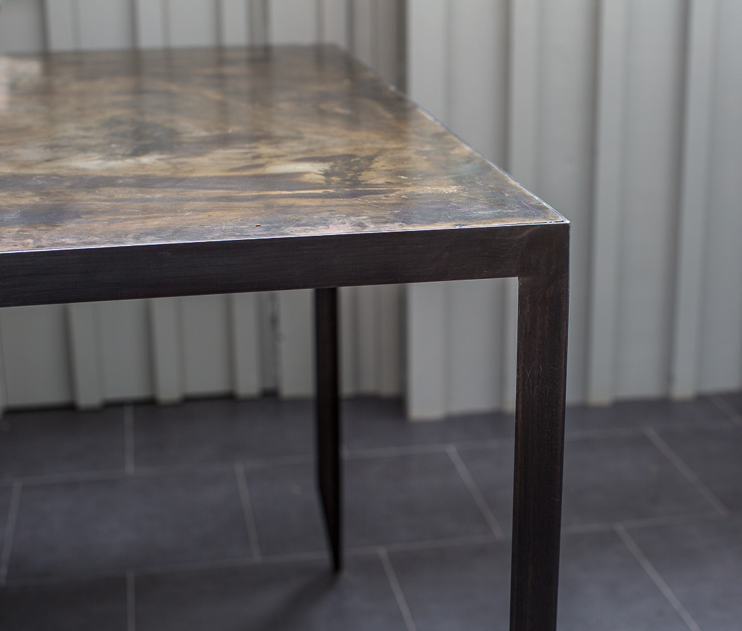 table-acier-design