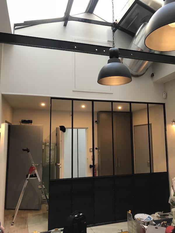 verriere atelier metal loft