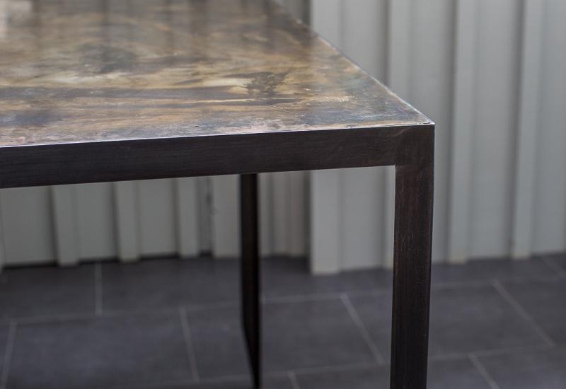 table-acier-design